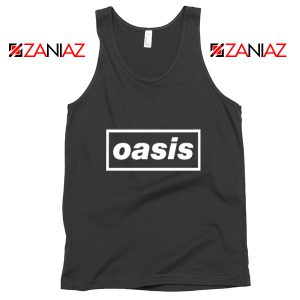 The Band Oasis Tank Top Oasis UK Band Best Tank Top Size S-3XL Black