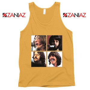 The Beatles Face Tank Top Rock Band Music Tank Top Size S-3XL Sunshine