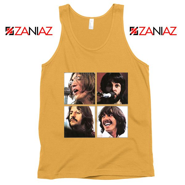 The Beatles Face Tank Top Rock Band Music Tank Top Size S-3XL Sunshine