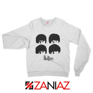 The Beatles Gifts Sweatshirt The Beatles Sweatshirt Womens Size S-2XL White