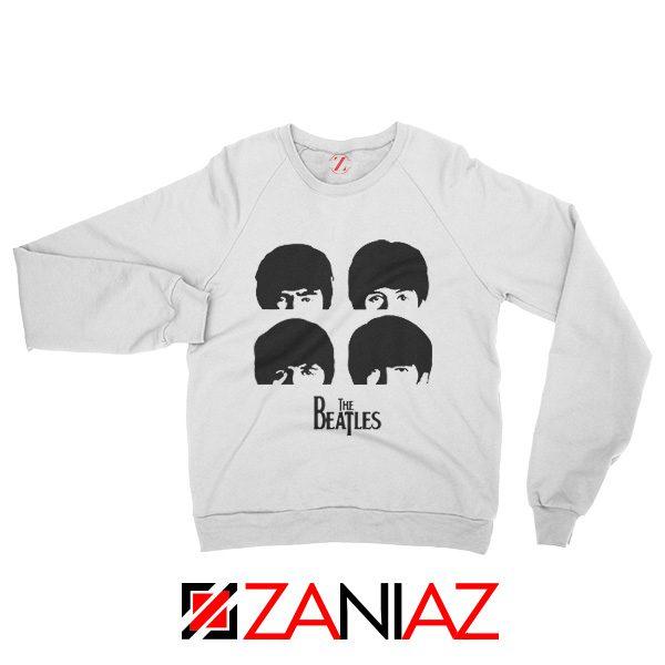 The Beatles Gifts Sweatshirt The Beatles Sweatshirt Womens Size S-2XL White