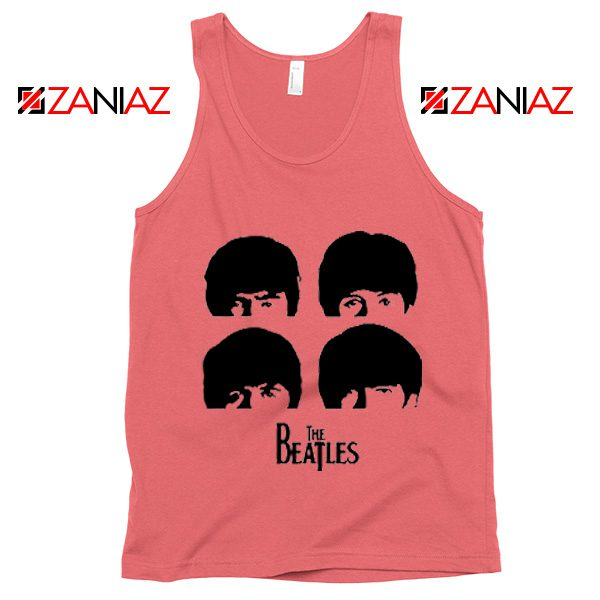 The Beatles Gifts Tank Top The Beatles Tank Top Womens Size S-3XL Coral