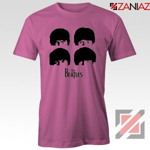 The Beatles Gifts Tshirt The Beatles T-Shirt Womens Size S-3XL Pink