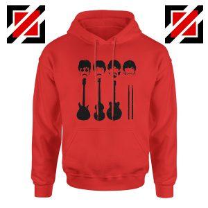 The Beatles Hoodie The Beatles Hoodie Mens Size S-2XL Red
