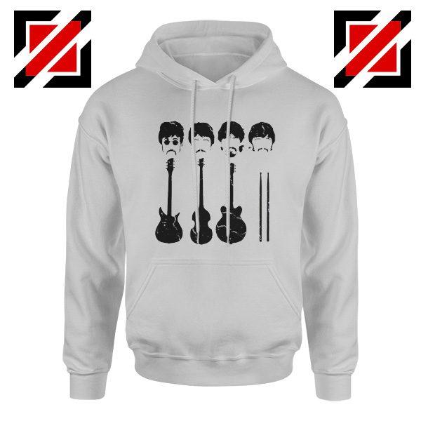 The Beatles Hoodie The Beatles Hoodie Mens Size S-2XL Sport Grey