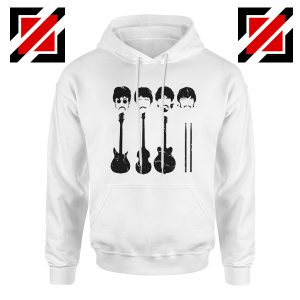 The Beatles Hoodie The Beatles Hoodie Mens Size S-2XL White