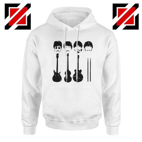 The Beatles Hoodie The Beatles Hoodie Mens Size S-2XL White