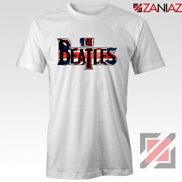 The Beatles Logo T Shirt The Beatles Rock Band T-Shirt Size S-3XL White