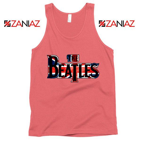 The Beatles Logo Tank Top The Beatles Rock Band Tank Top Size S-3XL Coral