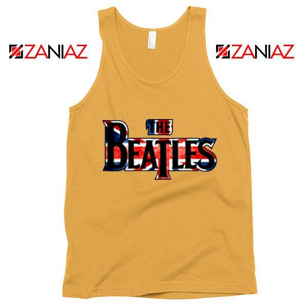 The Beatles Logo Tank Top The Beatles Rock Band Tank Top Size S-3XL Sunshine