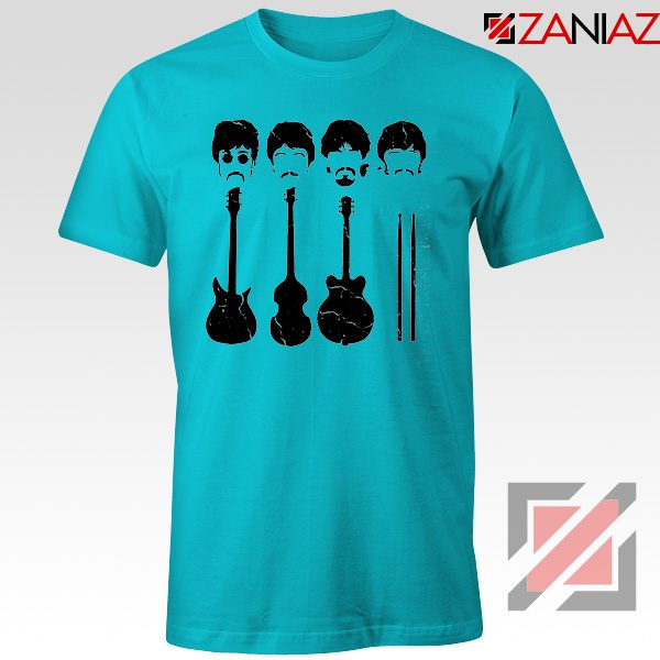 The Beatles T-Shirt The Beatles Tshirt Mens Size S-3XL Light Blue
