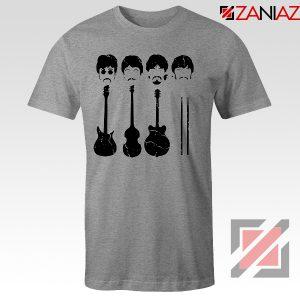 The Beatles T-Shirt The Beatles Tshirt Mens Size S-3XL Sport Grey
