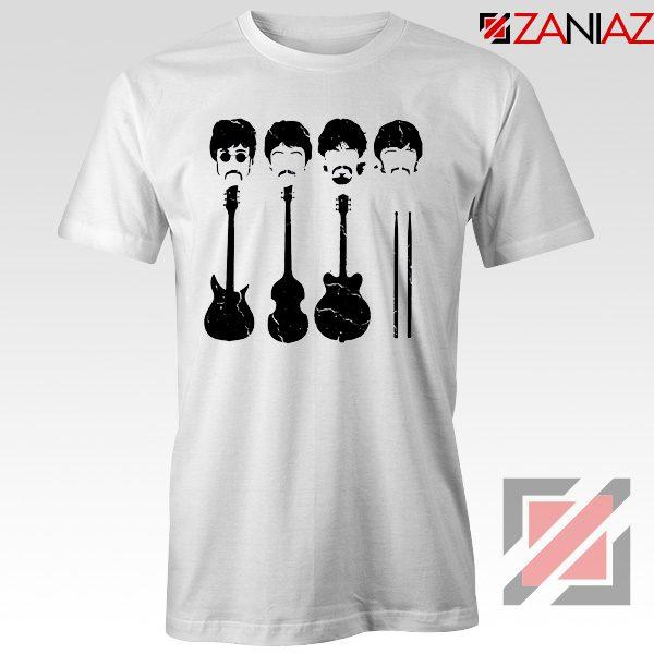 The Beatles T-Shirt The Beatles Tshirt Mens Size S-3XL White