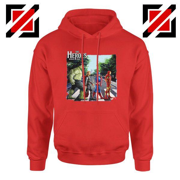 The Heroes Avenger Hoodie Marvel Best Hoodie Size S-2XL Red