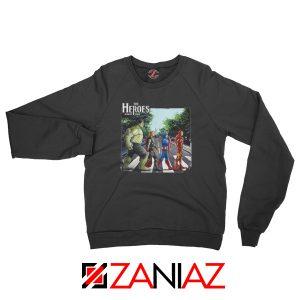 The Heroes Avenger Sweatshirt Marvel Best Sweatshirt Size S-2XL Black