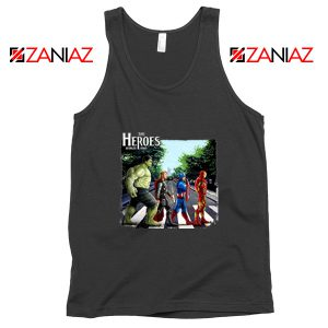 The Heroes Avenger Tank Tops Marvel Best Tank Tops Size S-3XL Black