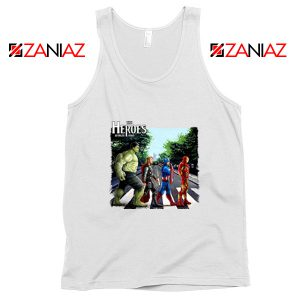 The Heroes Avenger Tank Tops Marvel Best Tank Tops Size S-3XL White