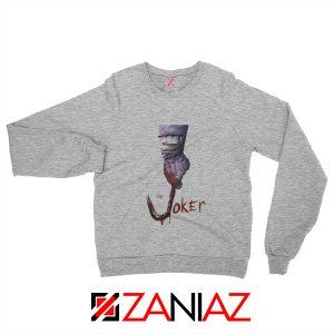 The Joker Sweatshirt Joker Film 2019 Best Cheap Sweatshirt Size S-2XL Grey