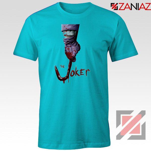 The Joker T-Shirt Joker Film 2019 Best Cheap T-shirts Size S-3XL Light Blue