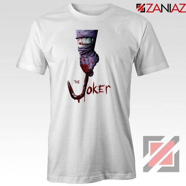 The Joker T-Shirt Joker Film 2019 Best Cheap T-shirts Size S-3XL White