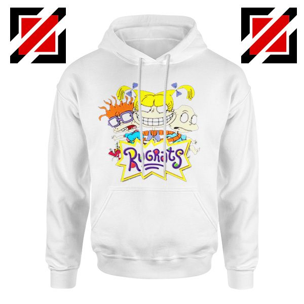 The Rugrats Hoodie Nickelodeon Rugrats Best Hoodie Size S-2XL White