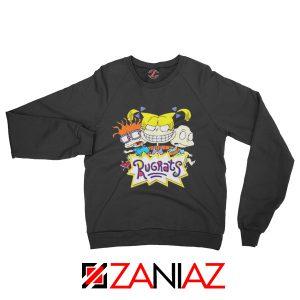 The Rugrats Sweatshirt Nickelodeon Rugrats Best Sweatshirt Size S-2XL Black