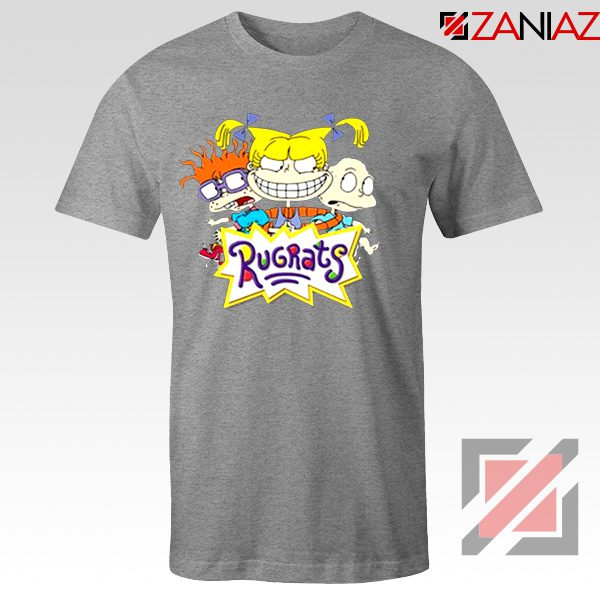 The Rugrats T Shirt Nickelodeon Rugrats Best Tee Shirt Size S-3XL Grey