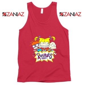The Rugrats Tank Top Nickelodeon Rugrats Tank Top Size S-3XL Red