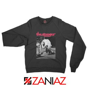 The Stooges Concert Men Sweatshirt American Music Sweatshirt Black