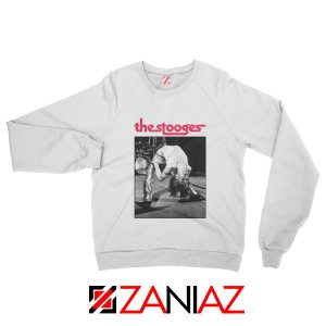 The Stooges Concert Men Sweatshirt American Music Sweatshirt White