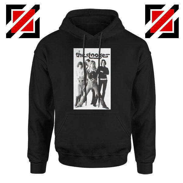 The Stooges Iggy Pop American Music Band Cheap Best Hoodie Black