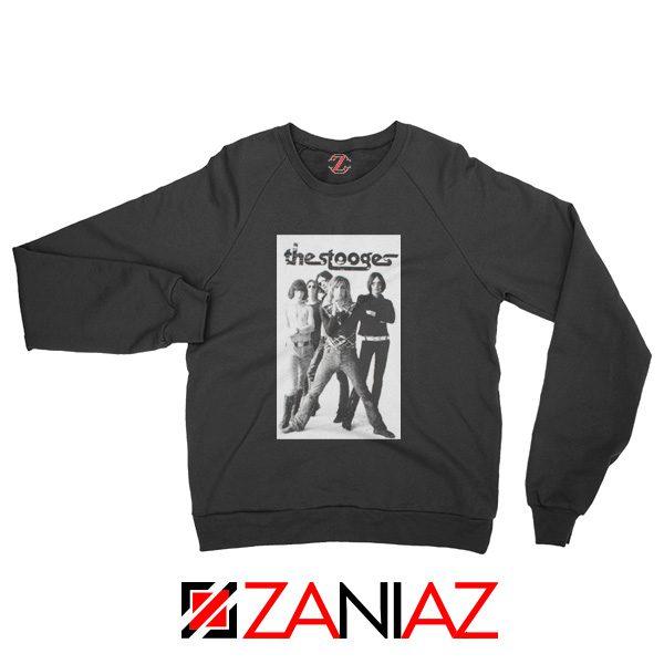 The Stooges Iggy Pop American Music Band Cheap Best Sweatshirt Black