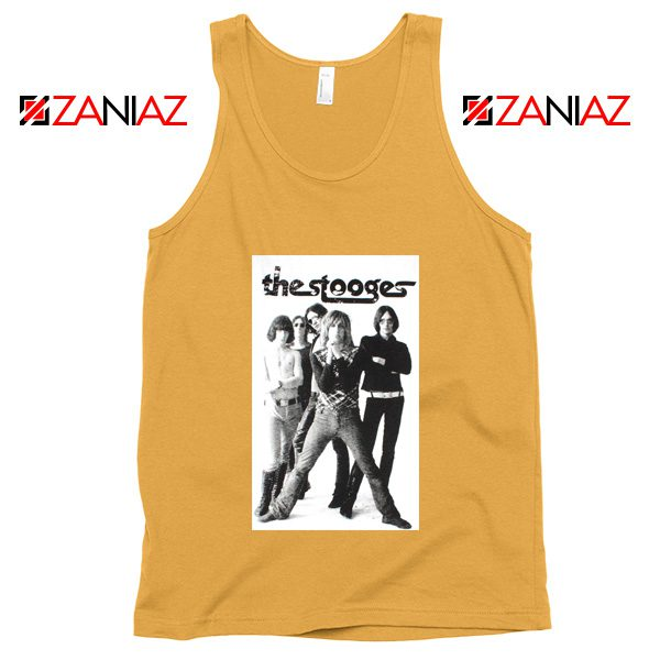 The Stooges Iggy Pop American Music Band Cheap Best Tank Top Sunshine