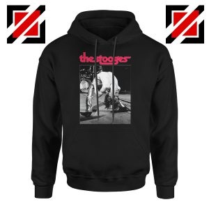 The Stooges Performing Men Hoodie American Music Concert Hoodie Black