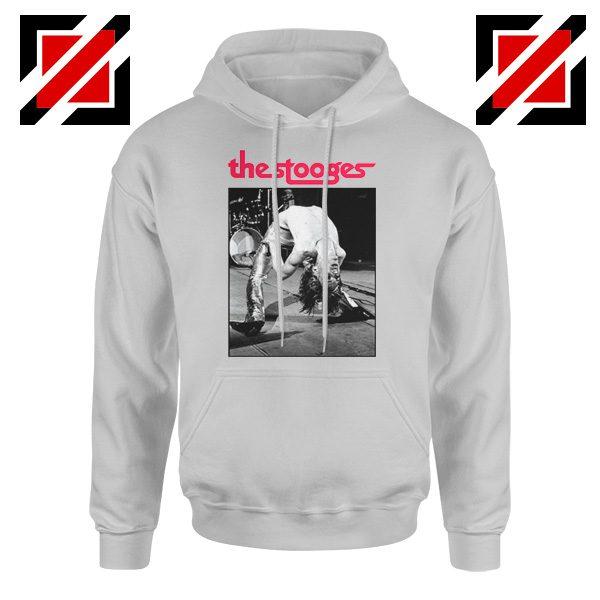 The Stooges Performing Men Hoodie American Music Concert Hoodie Sport Grey