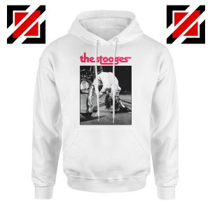 The Stooges Performing Men Hoodie American Music Concert Hoodie White