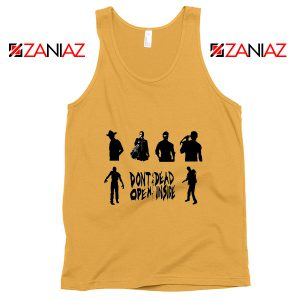 The Walking Dead Cheap Tank Top Rick Negan Daryl Zombies Tank Top Sunshine