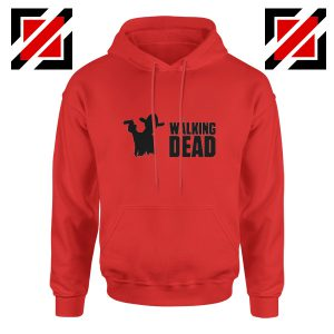 The Walking Dead Hoodie Horror TV Series Best Hoodie Size S-2XL Red