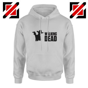 The Walking Dead Hoodie Horror TV Series Best Hoodie Size S-2XL Sport Grey