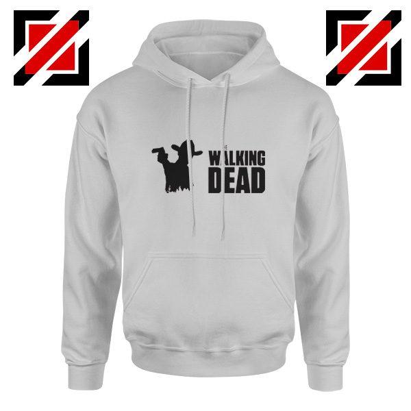The Walking Dead Hoodie Horror TV Series Best Hoodie Size S-2XL Sport Grey