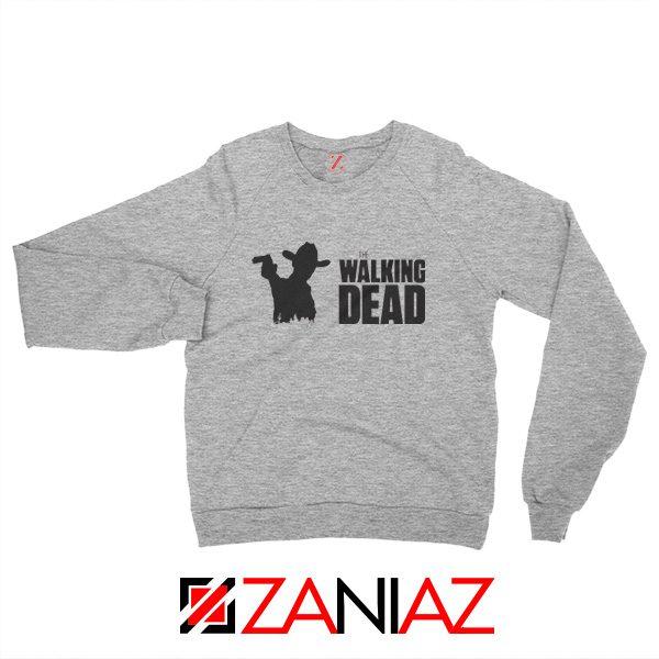 The Walking Dead Sweatshirt American TV Series Best Sweatshirt Sport Grey