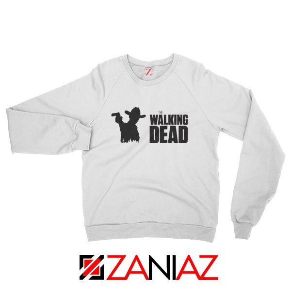 The Walking Dead Sweatshirt American TV Series Best Sweatshirt White