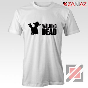 The Walking Dead Tee Shirt American Horror TV Series Best Tshirt White