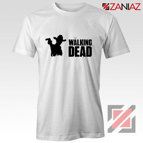 The Walking Dead Tee Shirt American Horror TV Series Best Tshirt White
