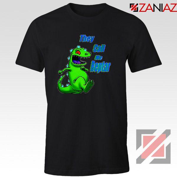 They Call Me Reptar T-Shirt Reptar Rugrats T-Shirt Size S-3XL Black
