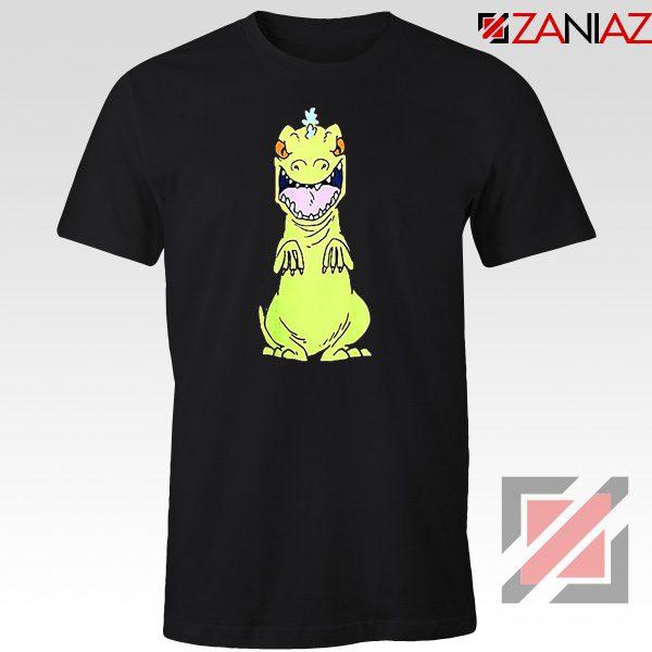 Rugrats Reptar T-Shirt Nickelodeon Reptar Cartoon T-Shirt Size S-3XL Black