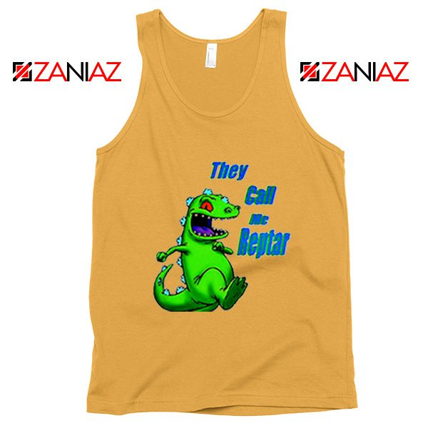They Call Me Reptar Tank Top Reptar Rugrats Tank Top Size S-3XL Sunshine