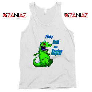 They Call Me Reptar Tank Top Reptar Rugrats Tank Top Size S-3XL White