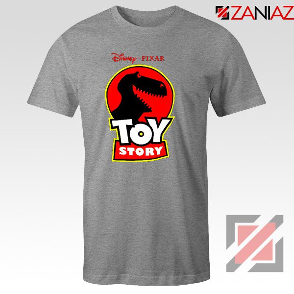 Toy Story Disney T-Shirts Disney Pixar Best T-Shirt Size S-3XL Grey