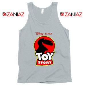 Toy Story Disney Tank Top Disney Pixar Best Tank Top Size S-3XL Silver